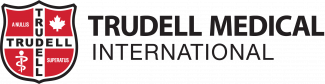 Trudell Medical International Logo stacked with crest